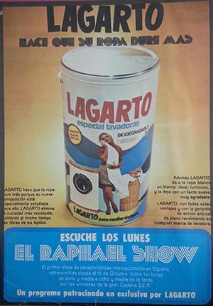 1973---LAGARTO---Tambor-Detergente---Anuncio-Prensa-Hola