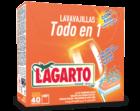 Lavavajillas Lagarto Todo en Uno 40 Unidades