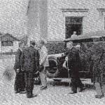 1924 - Visita Real - Coche