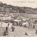 1930 - LAGARTO - San Sebastián - Playa de Baños