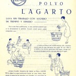 1940 Aprox. - LAGARTO - Instrucciones Lavado Detergente