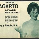 1960 - LAGARTO - Jabón - Anuncio Prensa ONDAS