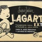 1961 - LAGARTO - Jabón - Anuncio Prensa LA ACTUALIDAD ESPAÑOLA - Bebé