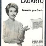 1961 - LAGARTO - Jabón - Anuncio Prensa SELECCIONES