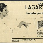 1962 - LAGARTO - Jabón - Anuncio Prensa AMA