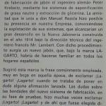 1964 - Lizariturry y Rezola - Centenario de su Fundación - Anécdota Lagarto - Nacimiento 1914 Extracto