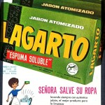 1966 - LAGARTO - Jabón Atomizado - Lavadora - Anuncio Prensa SELECCIONES