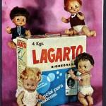 1970 Aprox. - LAGARTO - Anuncio Detergente Familiar y Muñeca