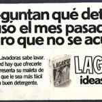 1975 - LAGARTO - Detergente Lavadora - Anuncio Lecturas - No se acuerda detergente