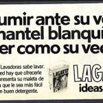 1976 - LAGARTO - Detergente Lavadora - Anuncio Semana - Presumir ante su vecina