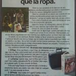 1980 - LAGARTO - Anuncio - Juguemos Limpio - Usted es mas importante que la ropa