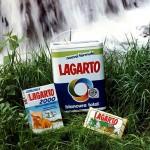 1990 - LAGARTO - Foto Jabón y Detergente sobre hierba