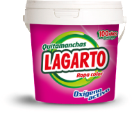 Quitamanchas Lagarto Ropa Color 600gr
