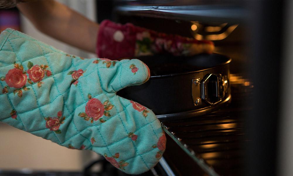 guantes de horno
